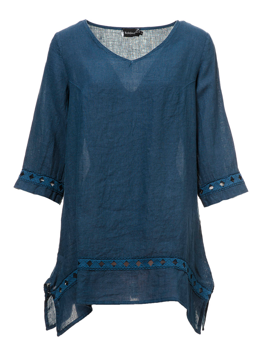 Tunic denim-blue