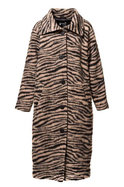 Coat long Zebra