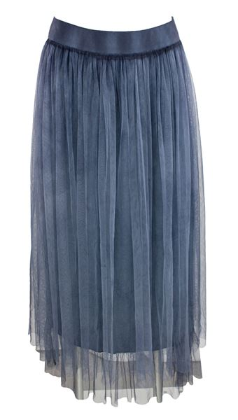 Skirt double chiffon